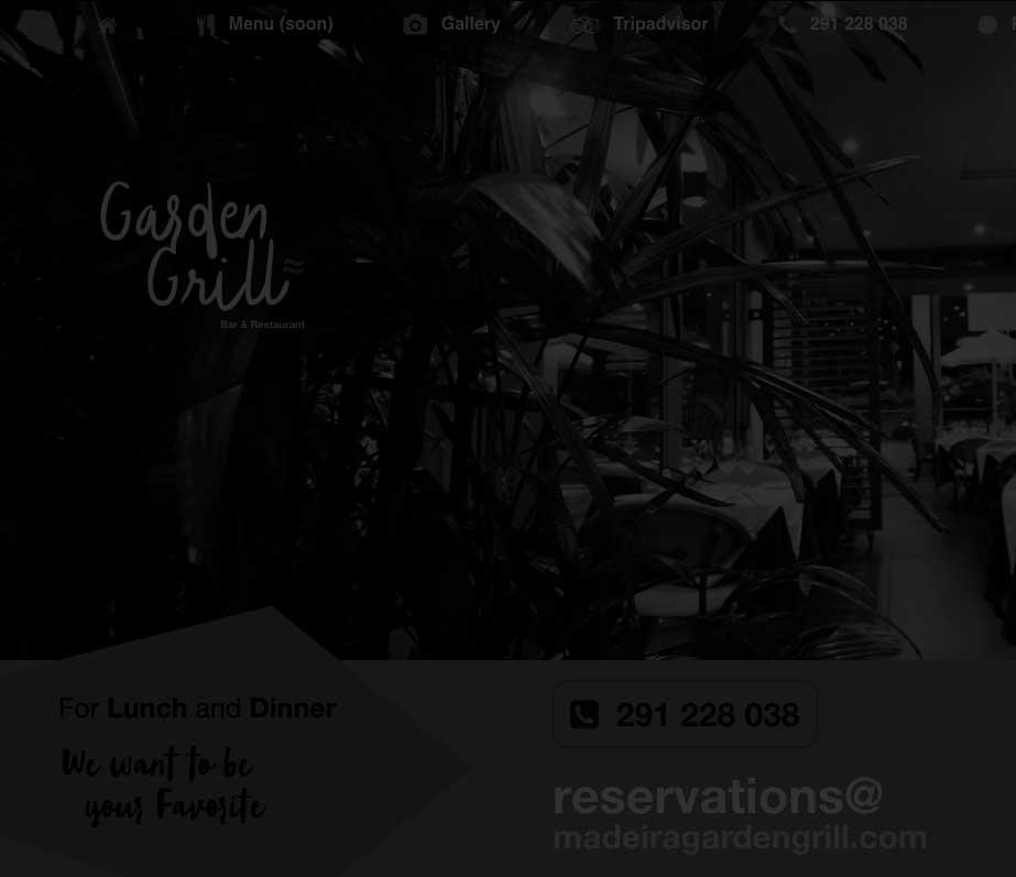 Madeira Garden Grill
